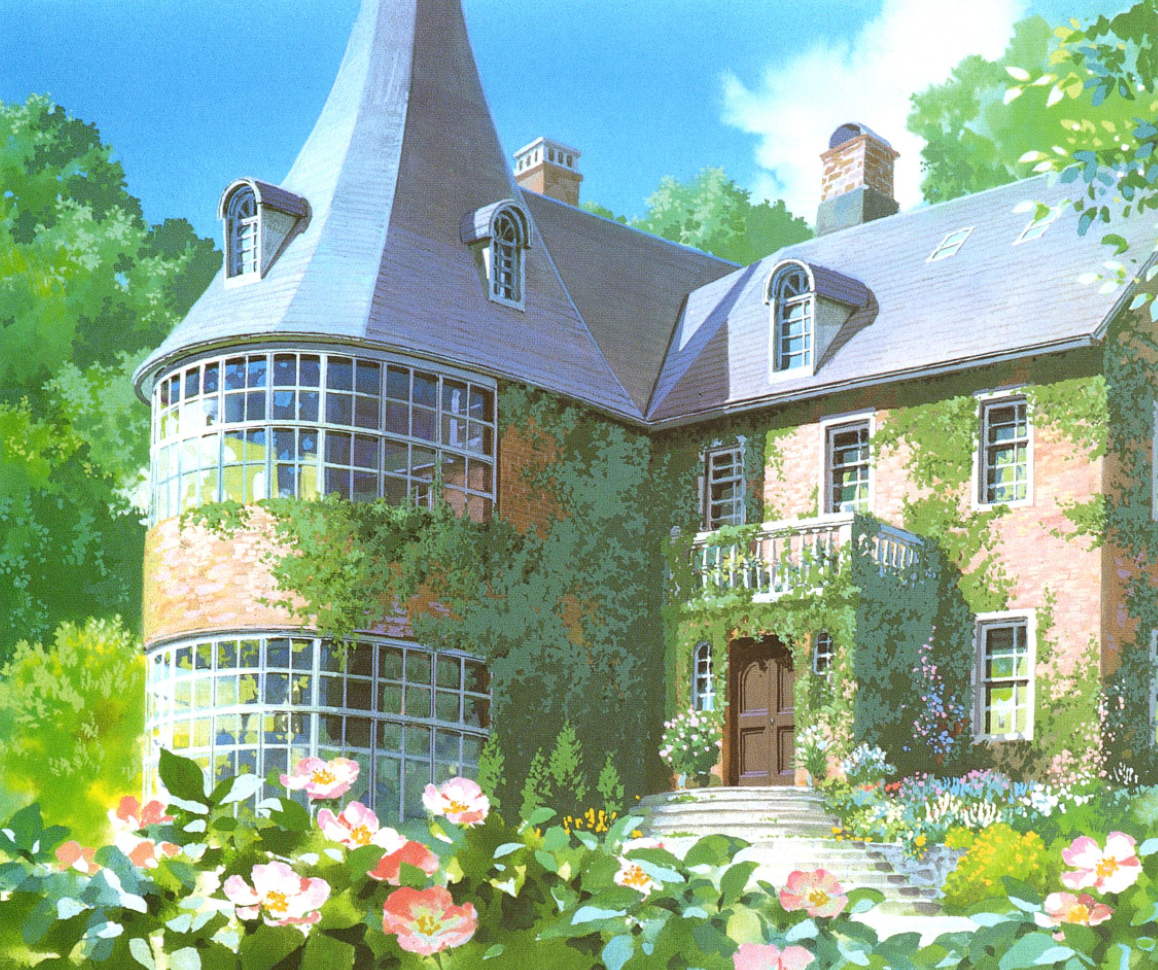 Ghibli Background Art Doomdee